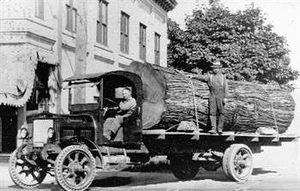 Kenworth presents its history where it began at historic Weyerhaeuser mill