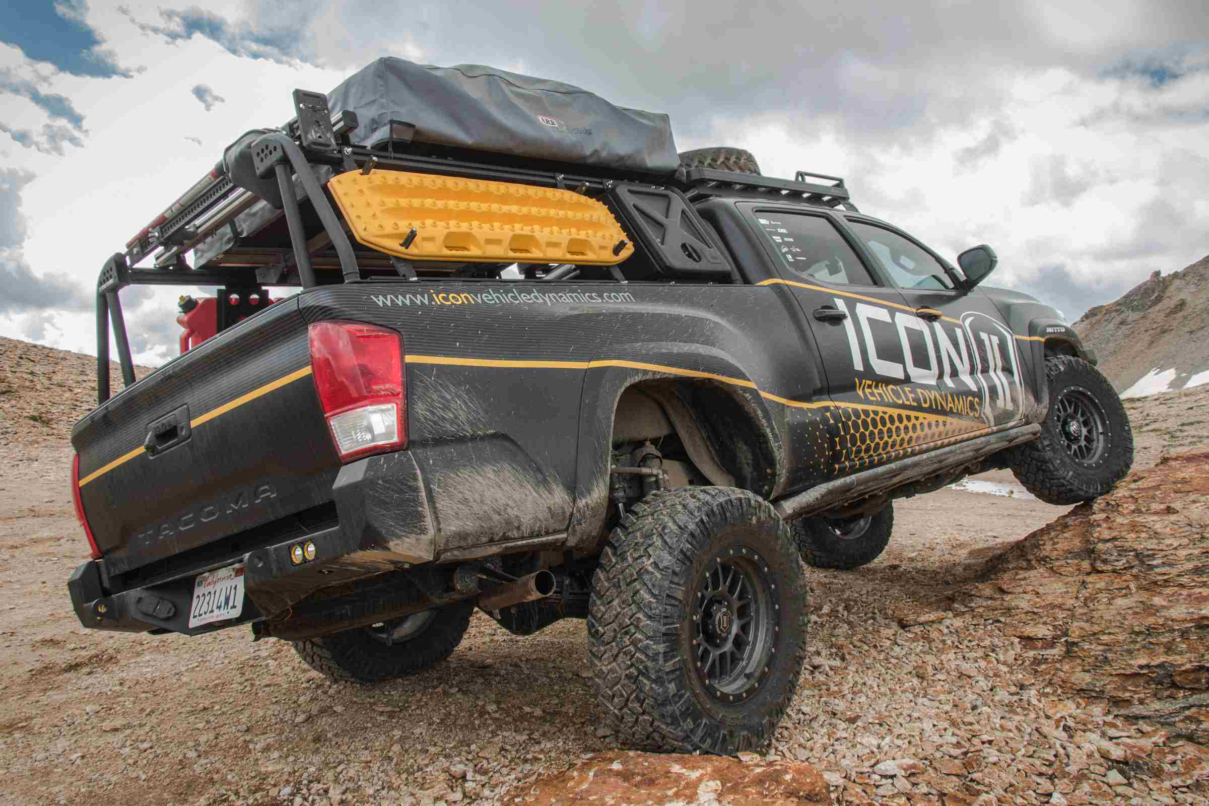 Icon launches new suspension system for Toyota Tacoma