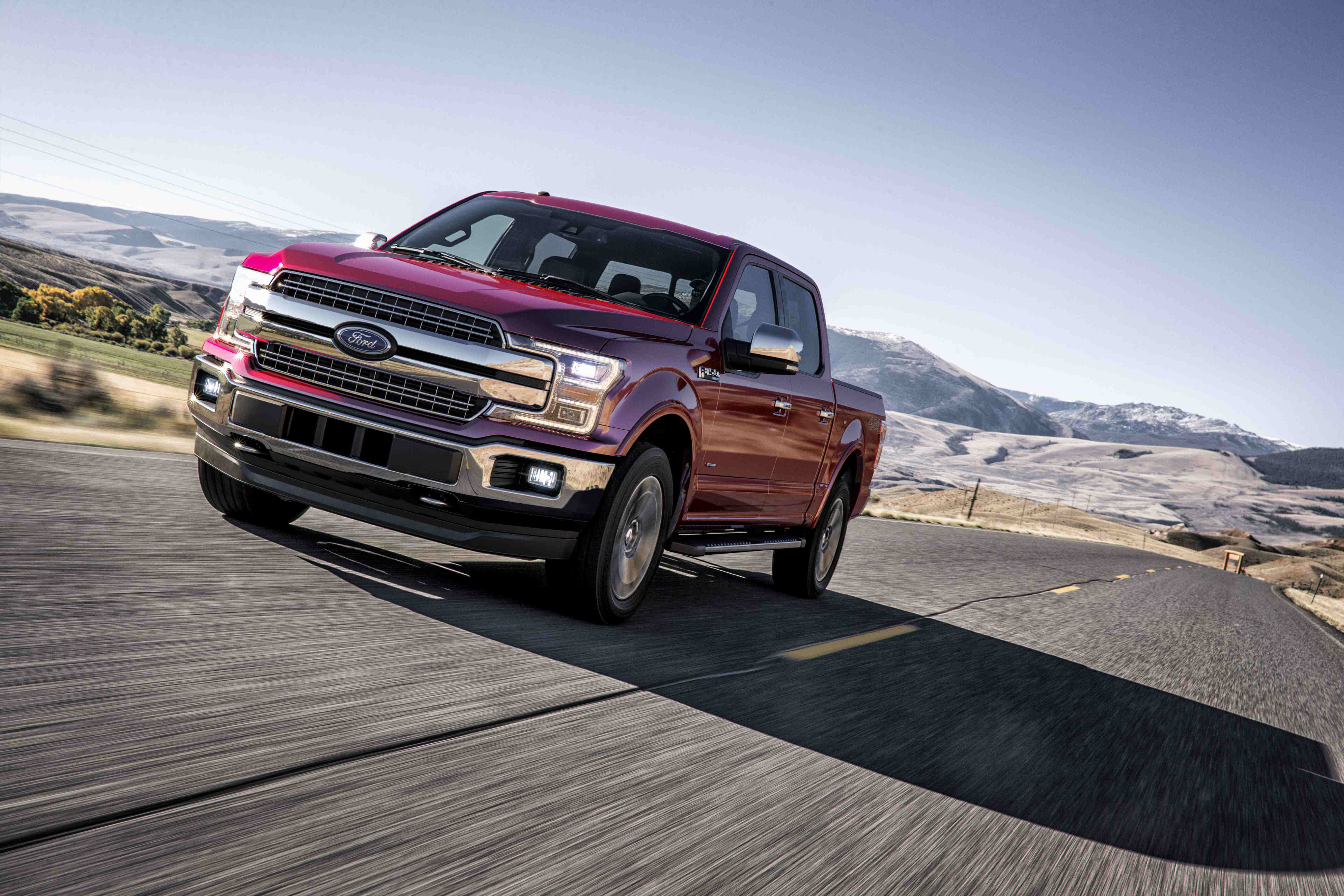 Ford recalling thousands of 2018 F-150 trucks over concern