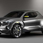 Hyundai's new pickup will reportedly resemble its Santa Cruz concept truck which was unveiled in 2015.