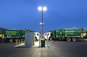 Waste Management has the largest CNG truck fleet in North America.