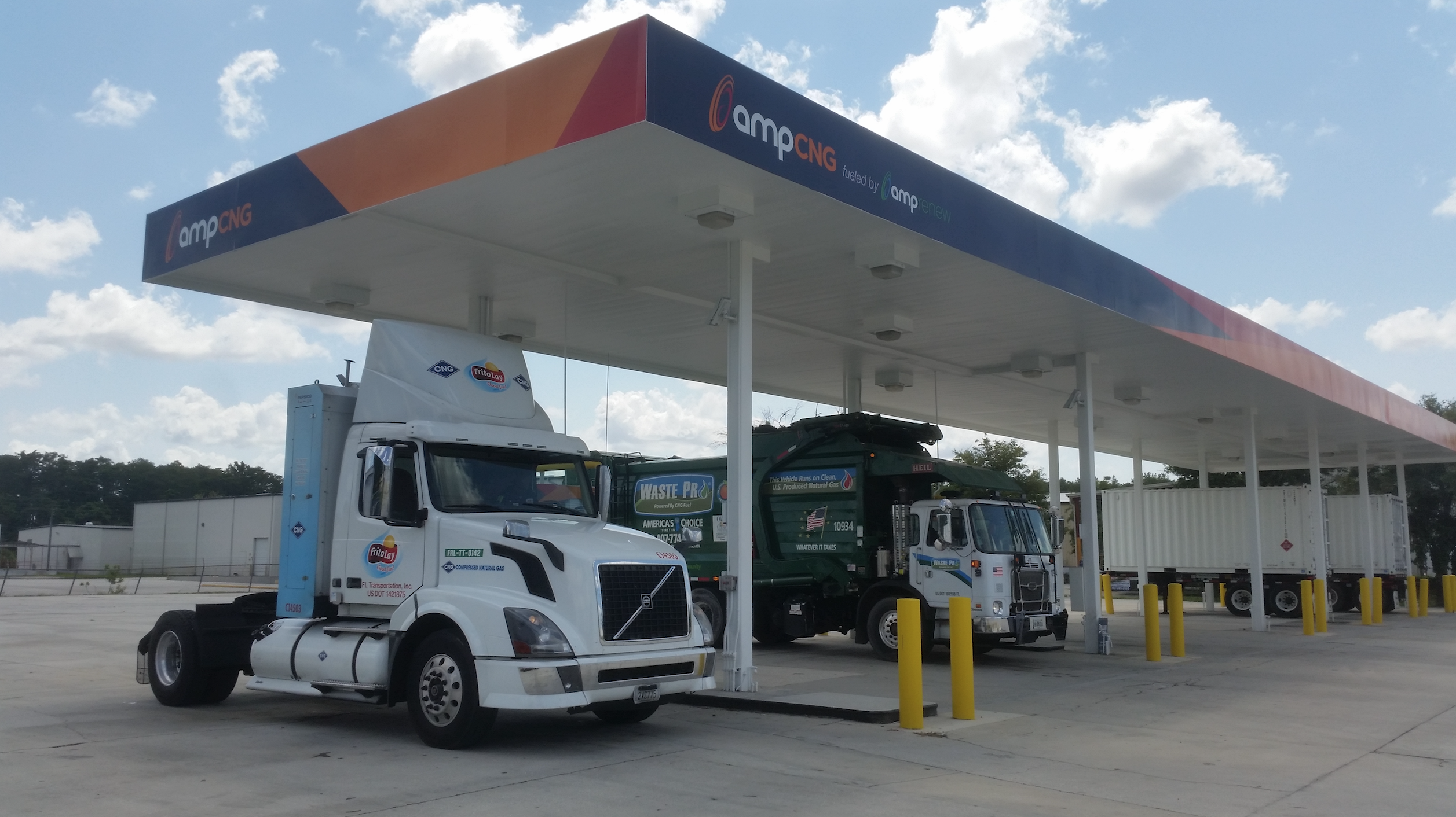 Natural Gas Stations >> Amp Increasing Renewable Natural Gas Production Sells Cng Stations