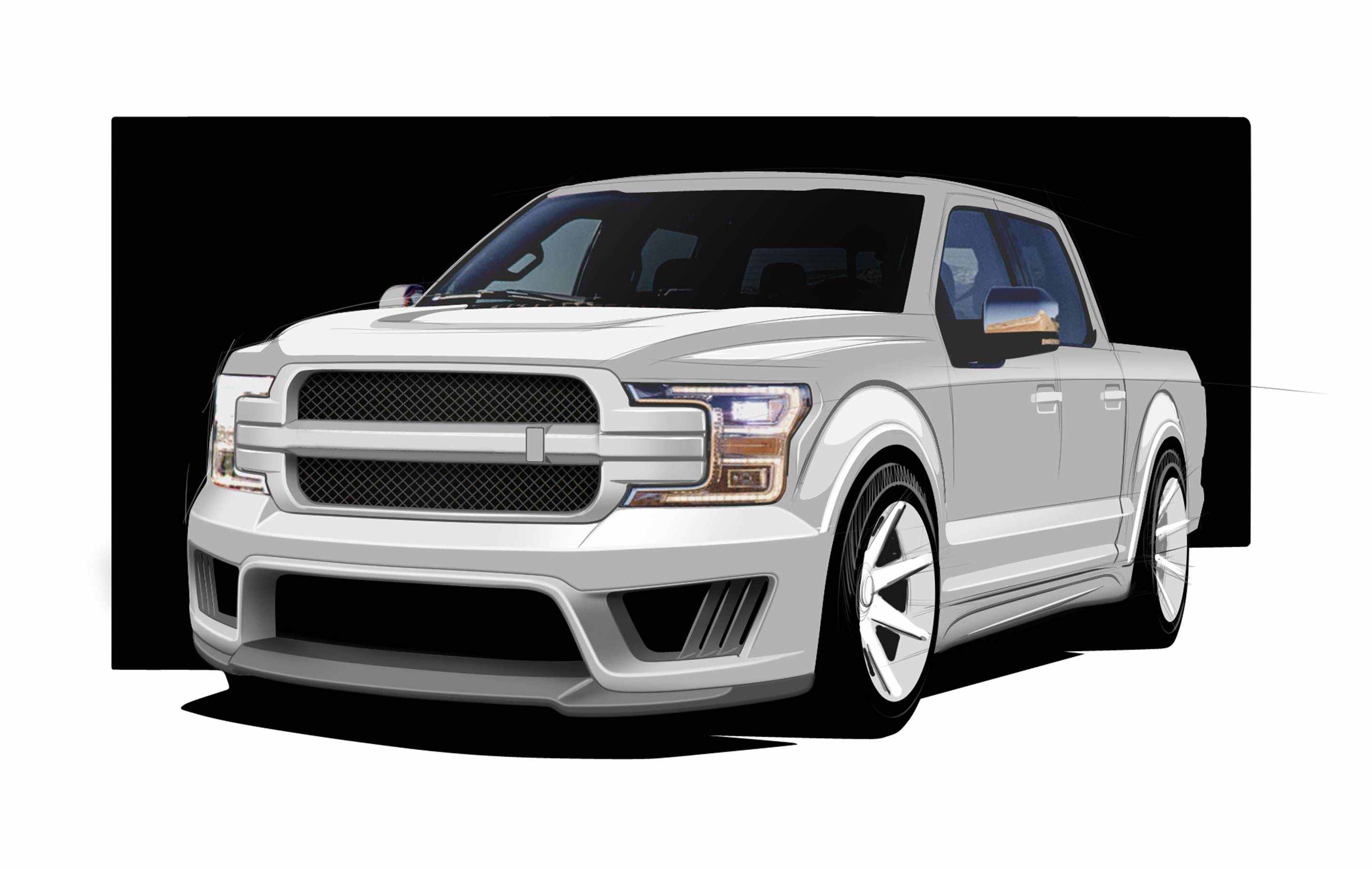 saleen launching a 700 hp f 150 dubbed the 2018 saleen. Black Bedroom Furniture Sets. Home Design Ideas