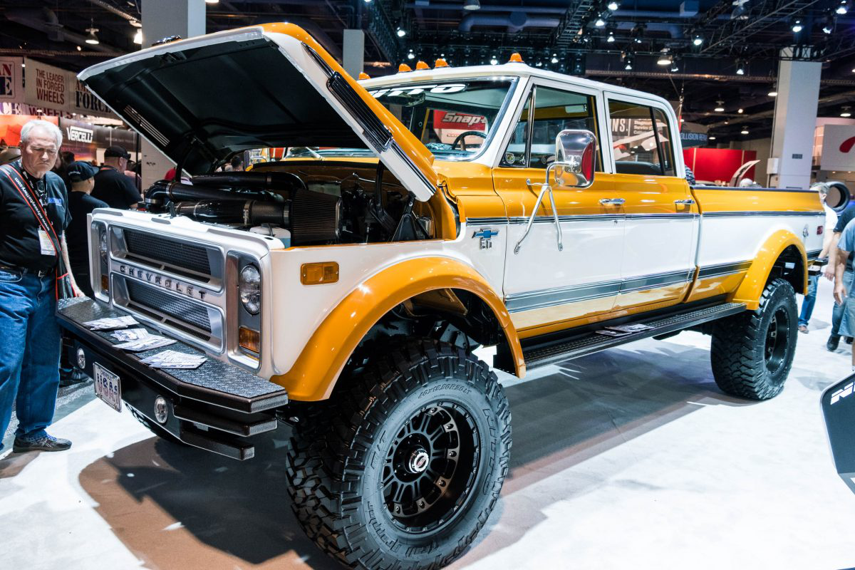 The Duke is a '72 Chevy C50 transformed into one bad work