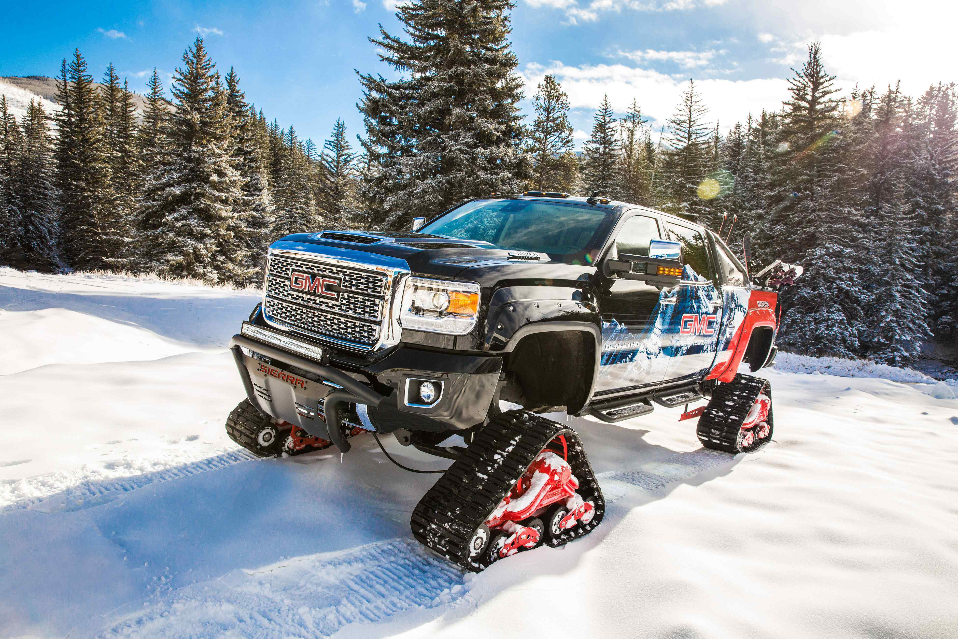 Gmc Unveils 2018 Sierra 2500 Hd All Mountain Concept Medium Duty