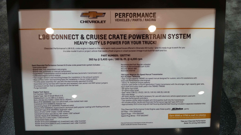 Chevy 776hp LSX454R and Duramax diesel block join the
