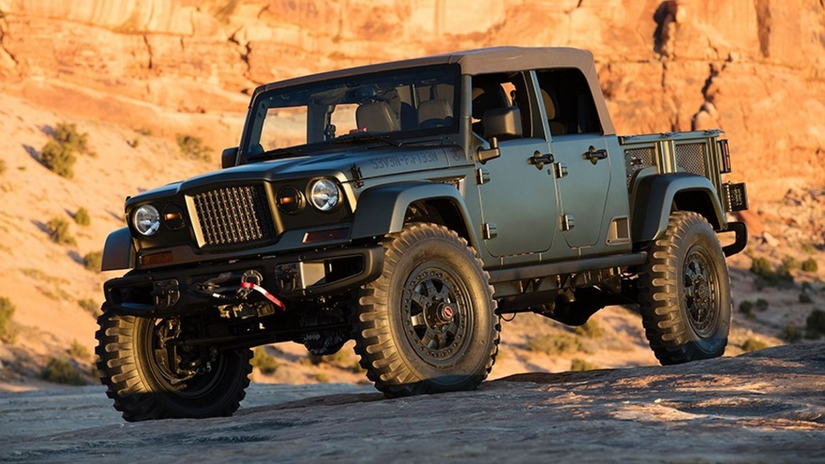 New Jeep pickup coming with convertible option | Medium ...