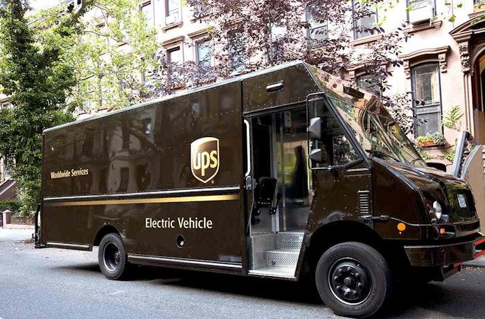 UPS-electric-van
