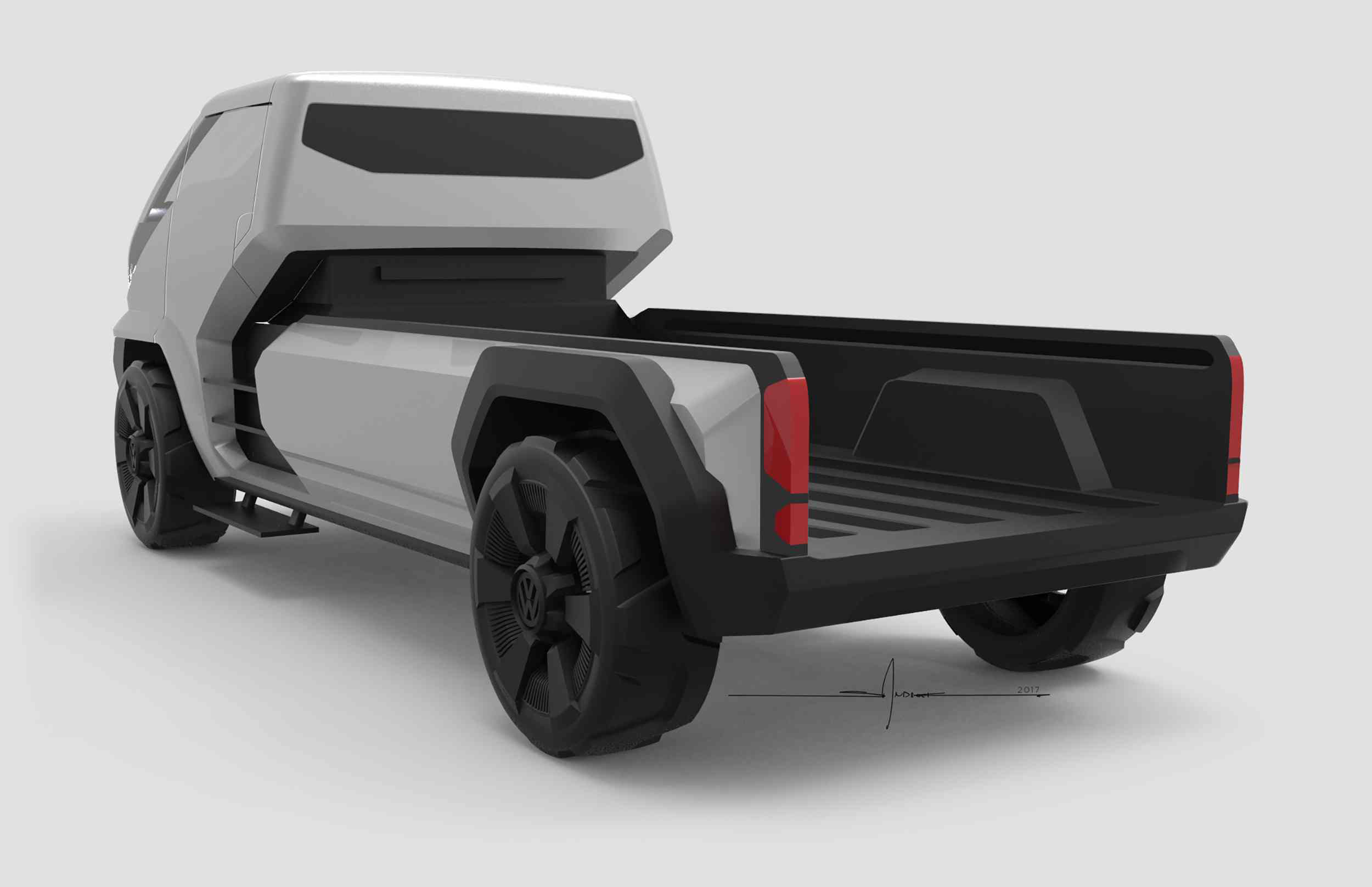 Award-winning VW Concept Pickup Design Reveals A Versatile