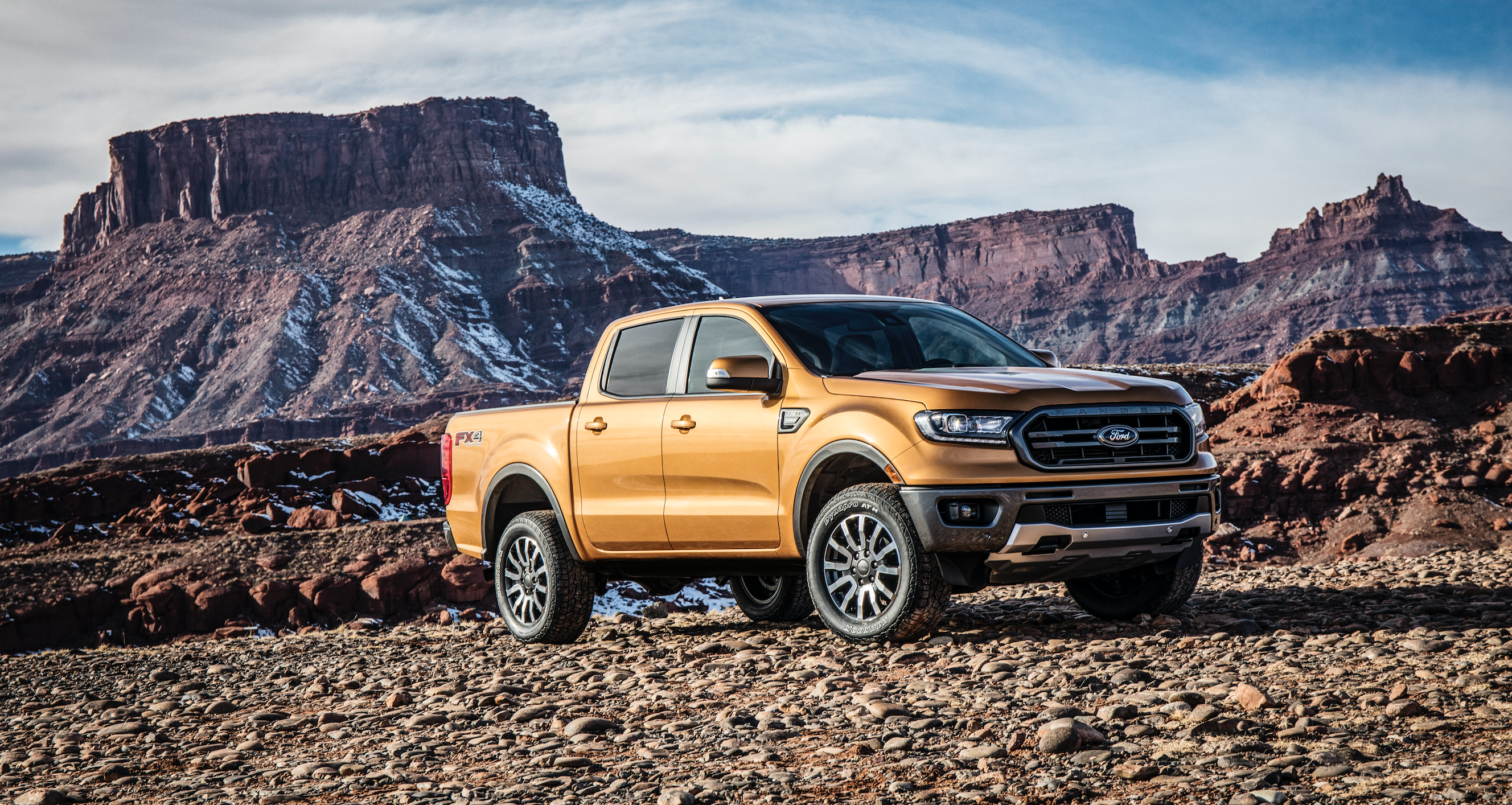 2019 Ford Ranger unleashes more capability & s segment first 10