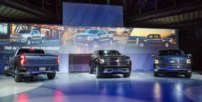 2019 Chevy Silverado Unveiled in Detroit