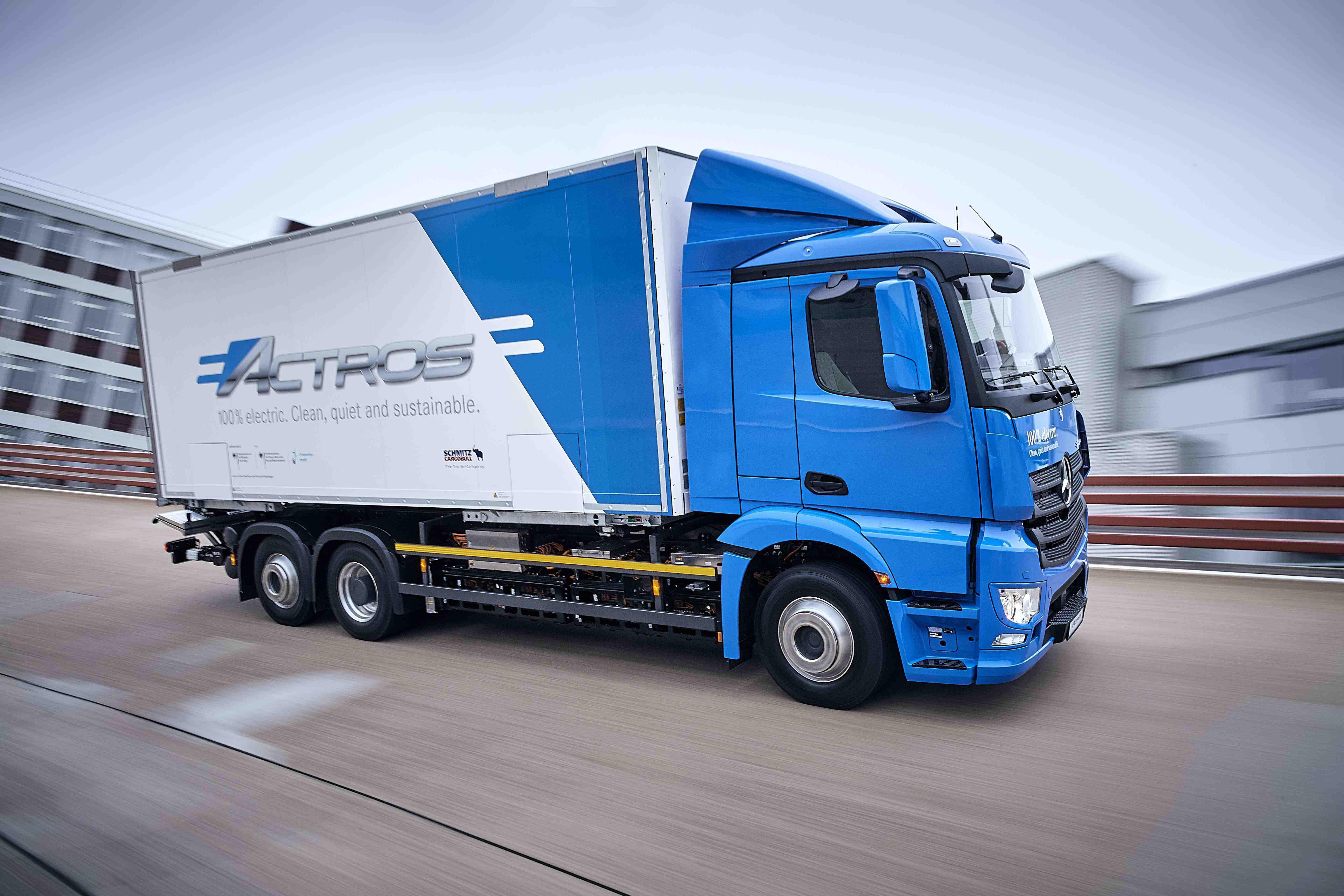 Mercedes all-electric eActros trucks to undergo fleet testing