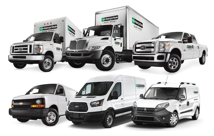 Enterprise-Truck-Rental Trucks