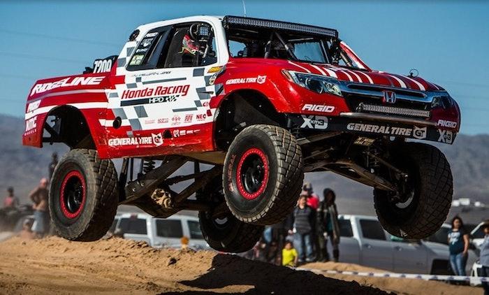 Honda Racing Wins Parker 425