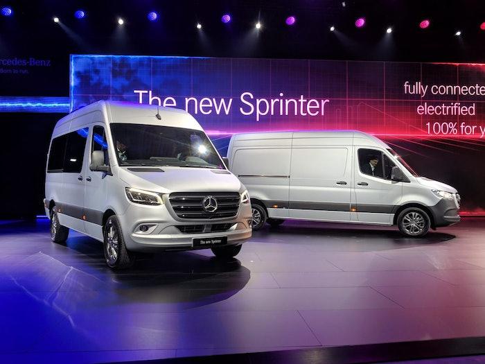 Mercedes new Sprinter