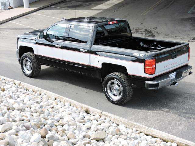 Retro Big 10 Chevy option offered on 2018 Silverado | Medium Duty Work Truck Info