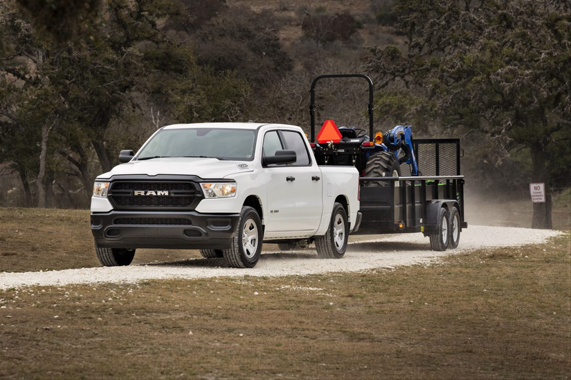 ram 39 s 2019 1500 tradesman is a 6 seater truck tailored to the jobsite medium duty work truck info. Black Bedroom Furniture Sets. Home Design Ideas