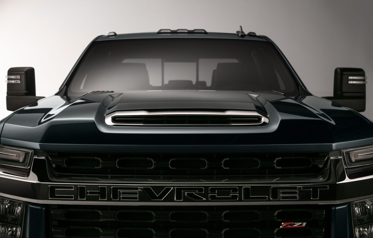 Chevy offers a glimpse at next-gen 2020 Silverado HD ...