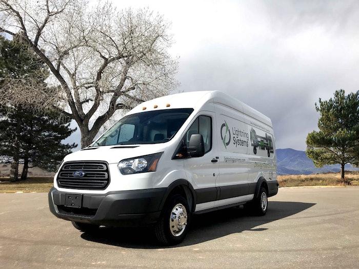 LightningElectric Ford Transit Cargo Van