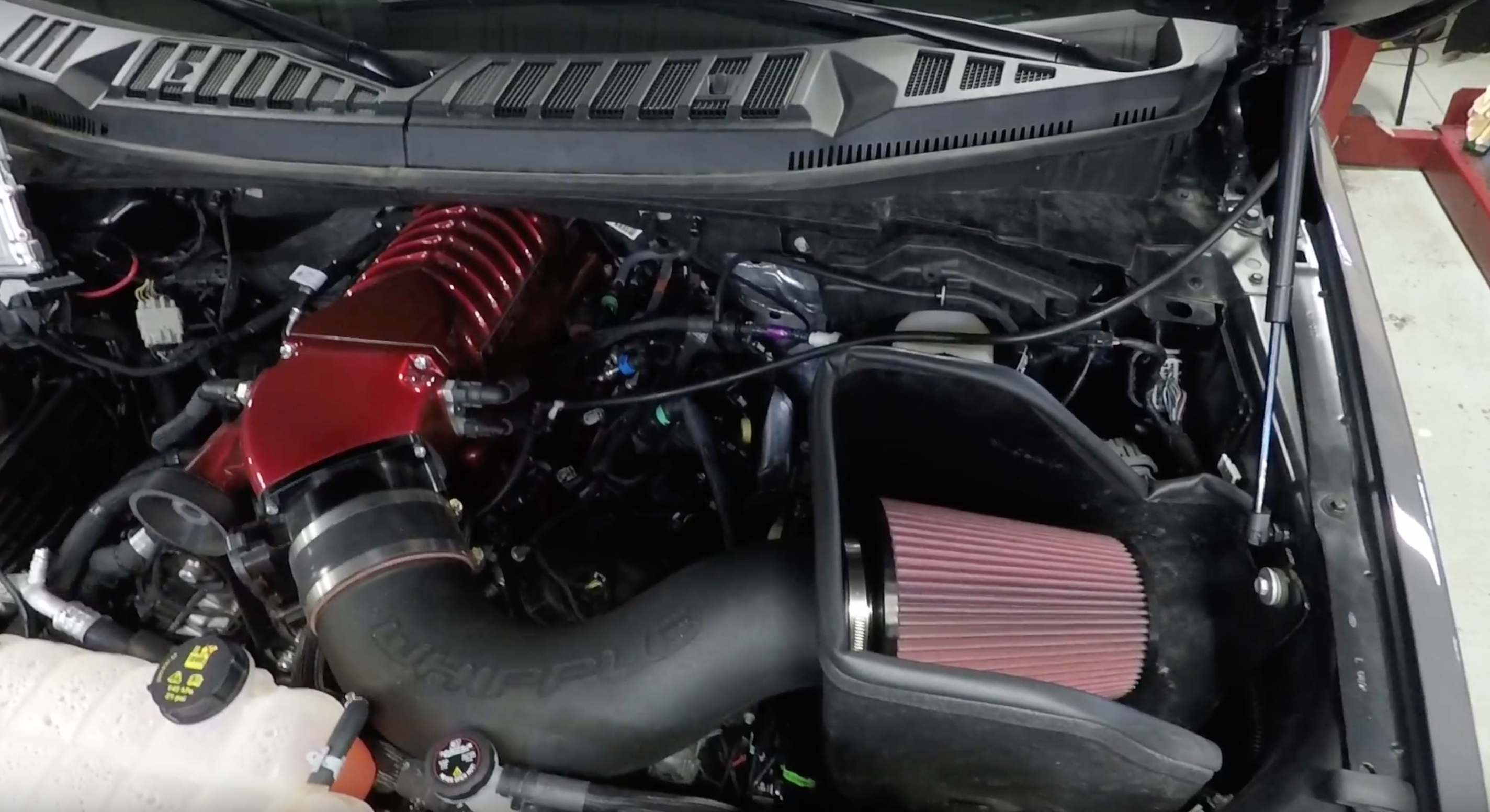 Video: 2018 F-150 gets nearly double horsepower from Whipple