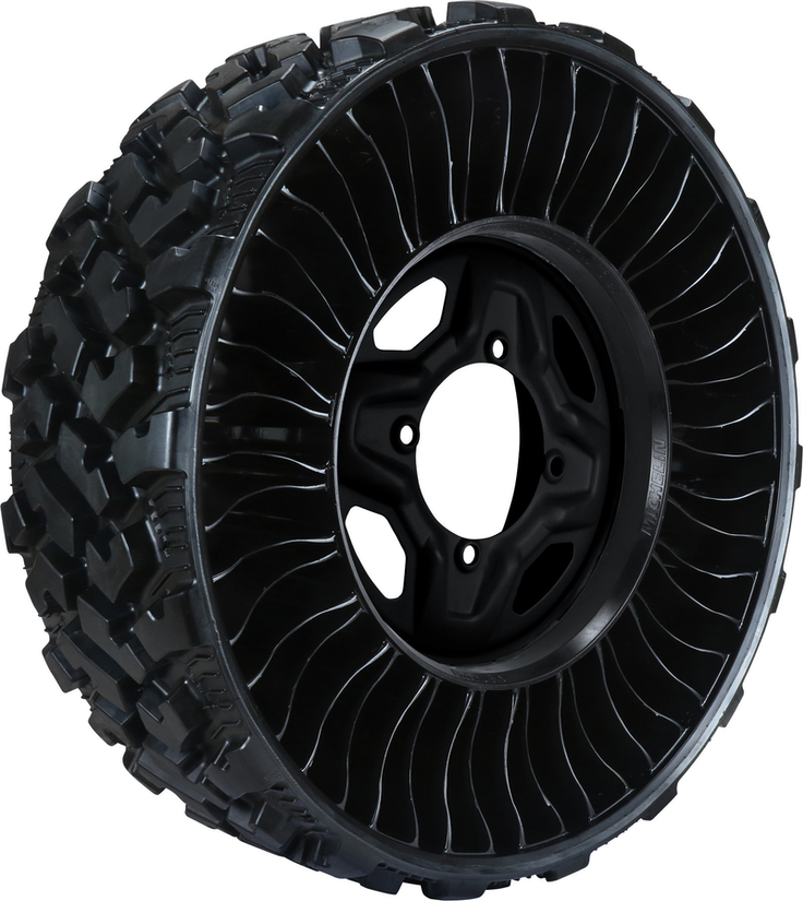 Michelin launches new airless radial for UTVs | Medium ...