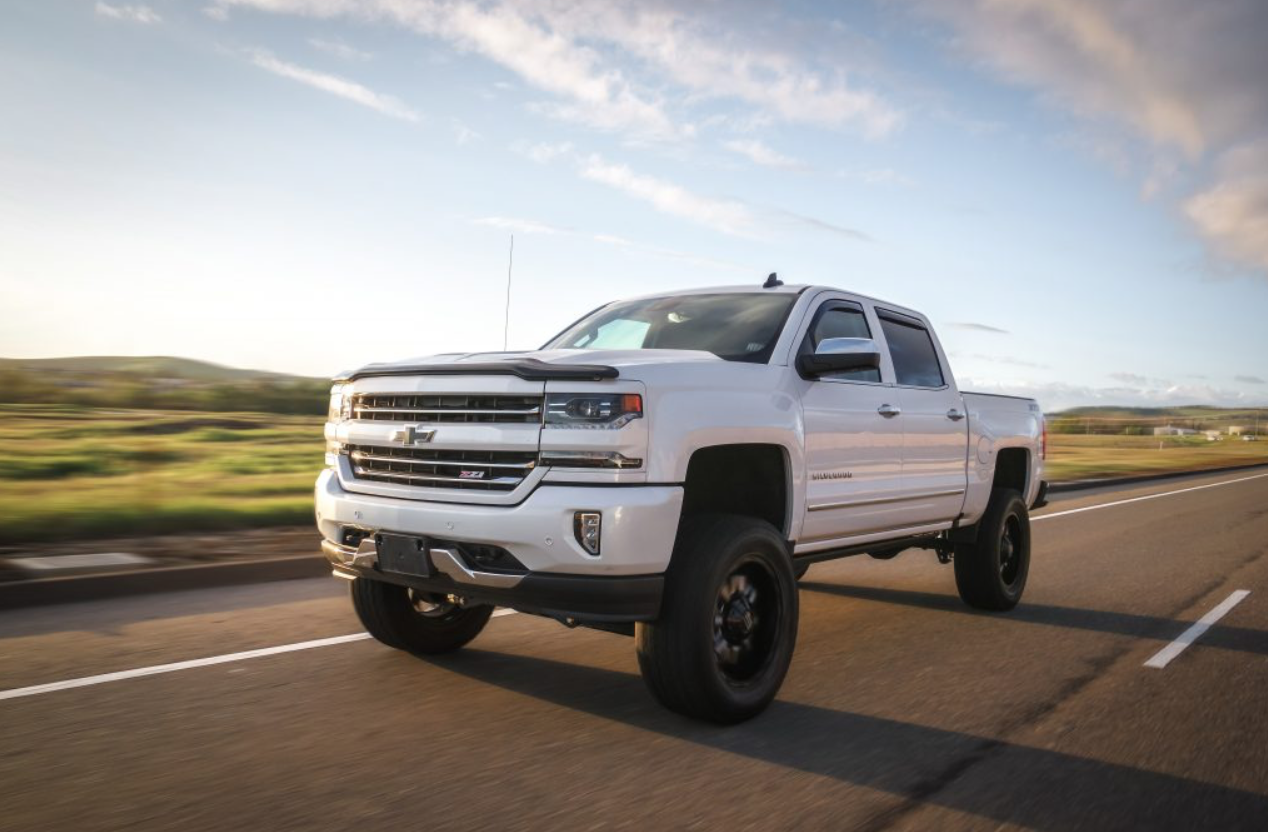 2014 Chevy Silverado Lifted >> Readylift Launches New Big Lift Kit Series For 2014 2018