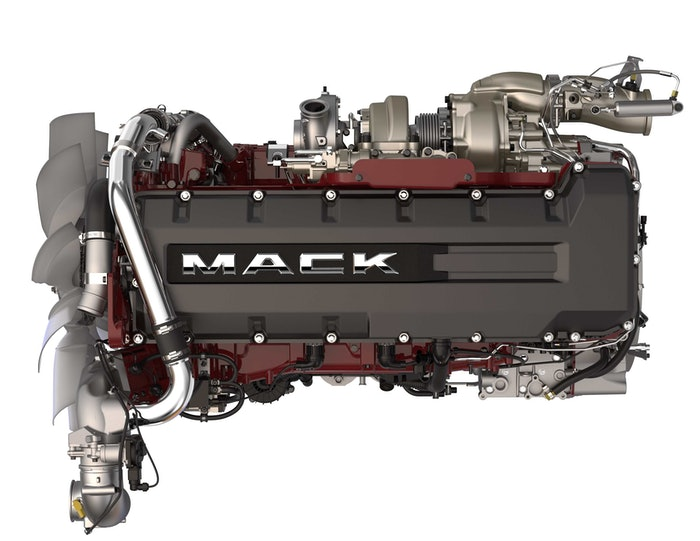 180614 – Mack MP8HE Engine
