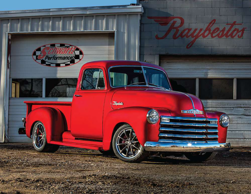 Raybestos 1953 Chevy Restomod To Be Given Away After North American