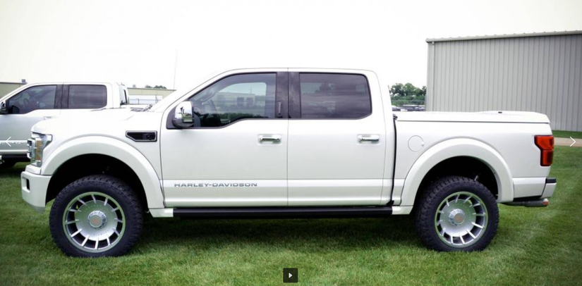 2019 Ford F-150 Harley-Davidson truck on display this week ...