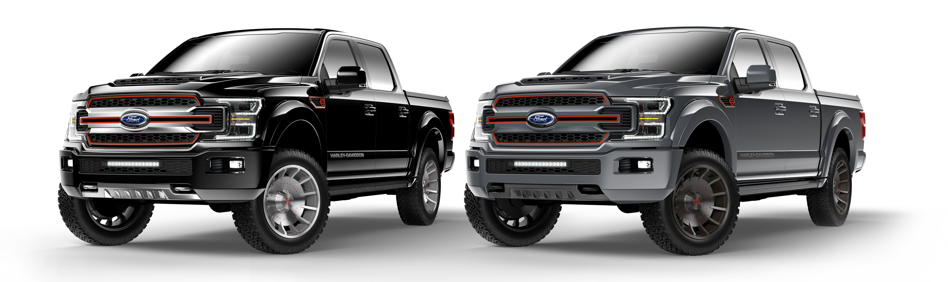 Harley Davidson And Tuscany Motor Co Announced Today That They Ve Built An All New Custom 2019 Ford F 150 Pickup