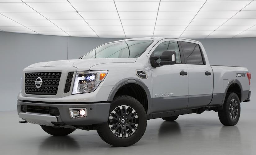 More high-tech features for 2019 Nissan Titan & 2019 Titan ...