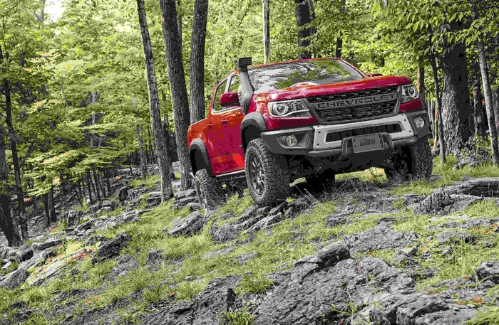 The Colorado ZR2 Bison offers customers an even more extreme tur