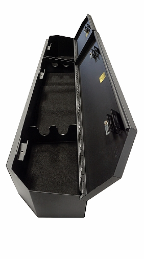 Tuffy unveils under rear seat lockbox for 2019 GMC Sierra & Chevy Silverado Crew Cab | Medium ...
