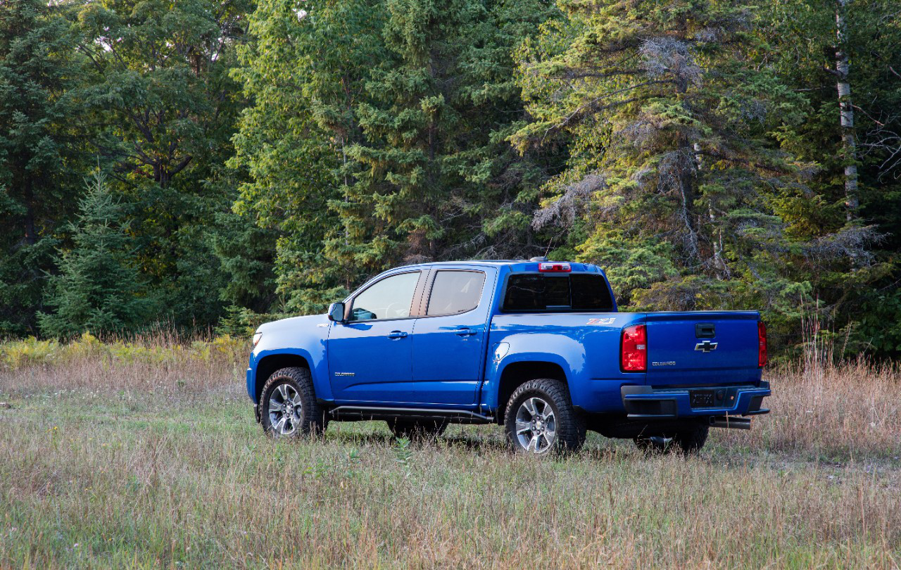This Month Marks The Four Year Anniversary Of Return Chevrolet S Colorado Midsize Truck Introduced As A 2017 Model Recorded Its First