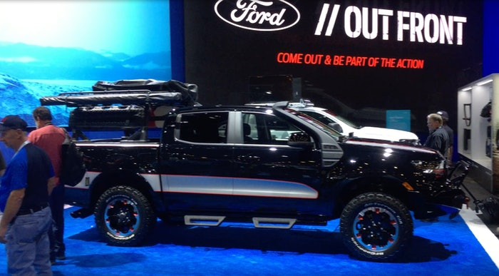Ford out front ranger