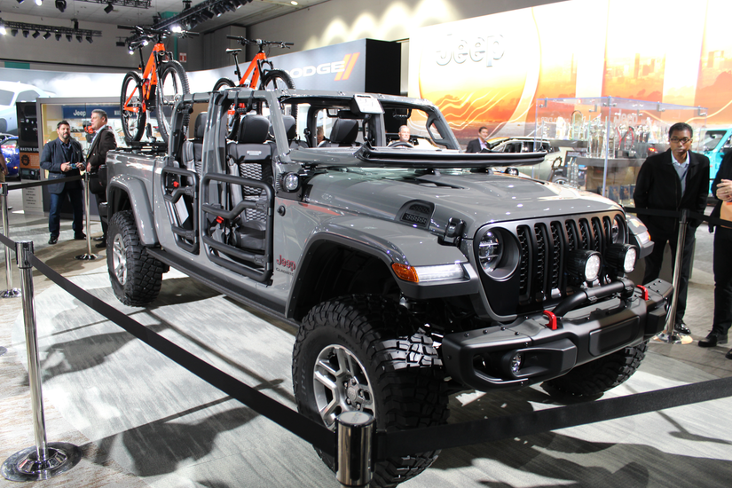Mopar Rolling Out Accessories For 2020 Jeep Gladiator