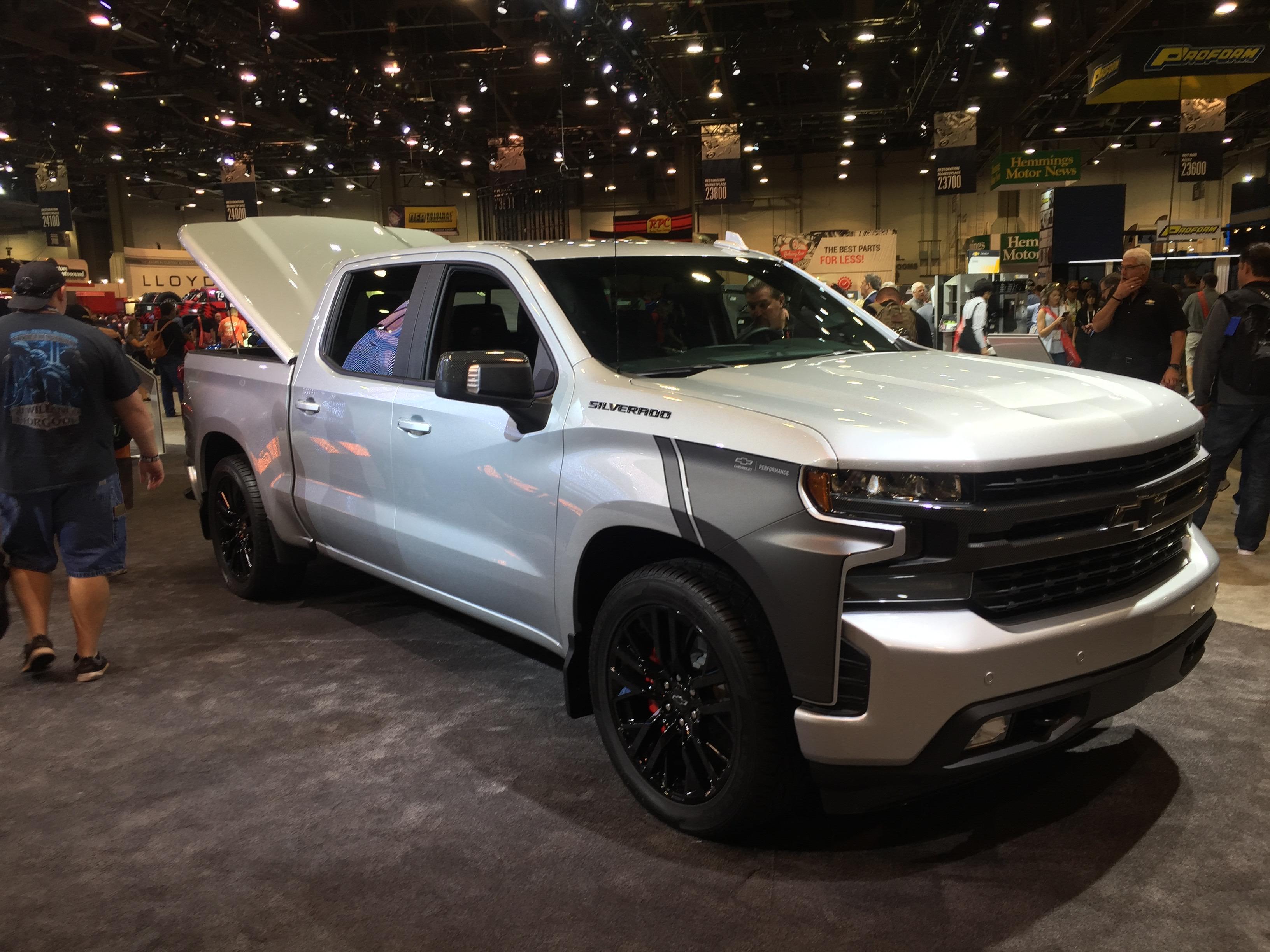 2019 Chevy Silverado Rst Concept Medium Duty Work Truck Info