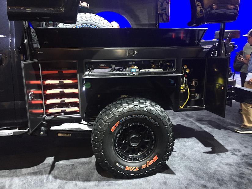 Deberti Design 2019 Ford F 250 Redefines Storage Utility