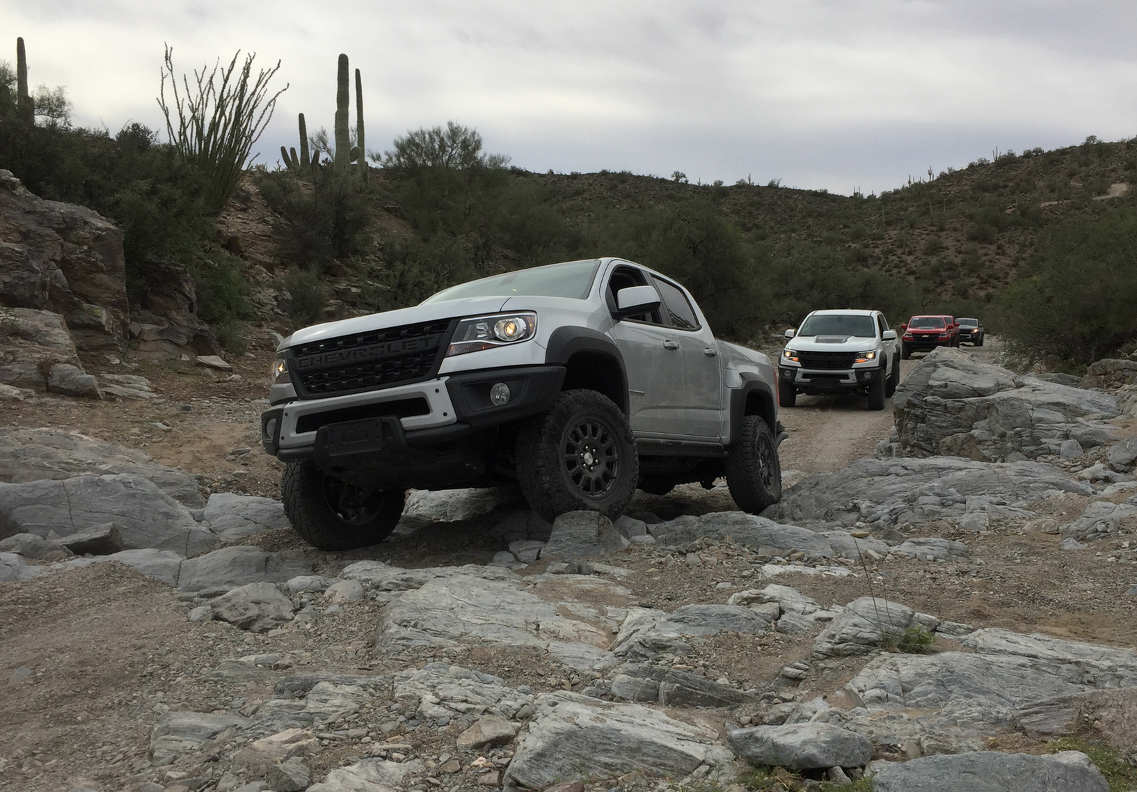 Test drive video: 2019 Chevy Colorado ZR2 Bison at home on tough Arizona trails | Medium Duty ...