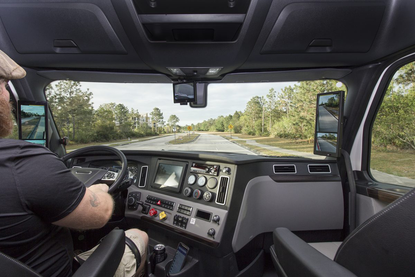 Fmcsa Okays Limited Use Of Rearview Camera As Mirror