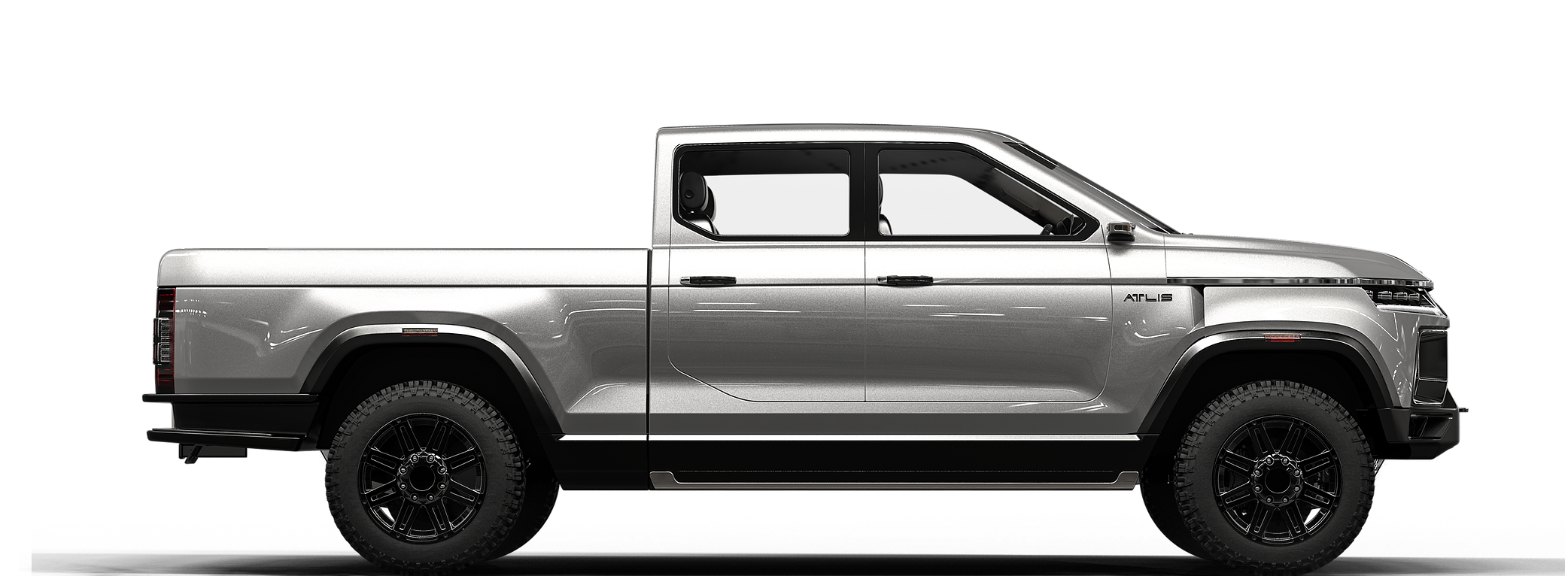 Dually option available on new electric pickup | Medium Duty