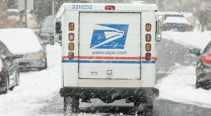 USPS-snow