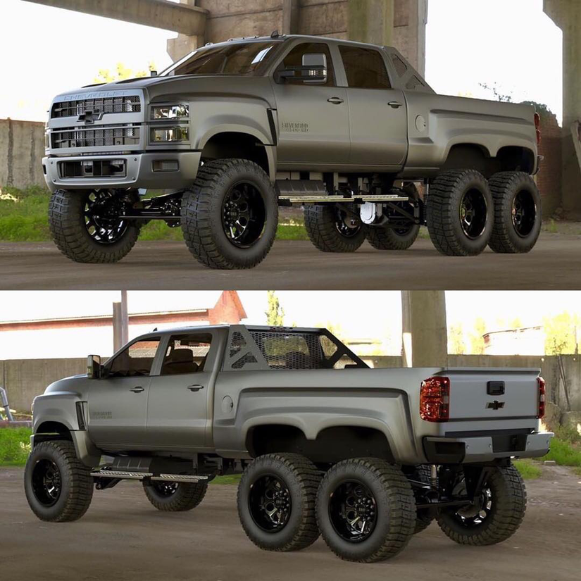 Diesel Brothers building 6×6 Ford and Chevy trucks | Medium Duty