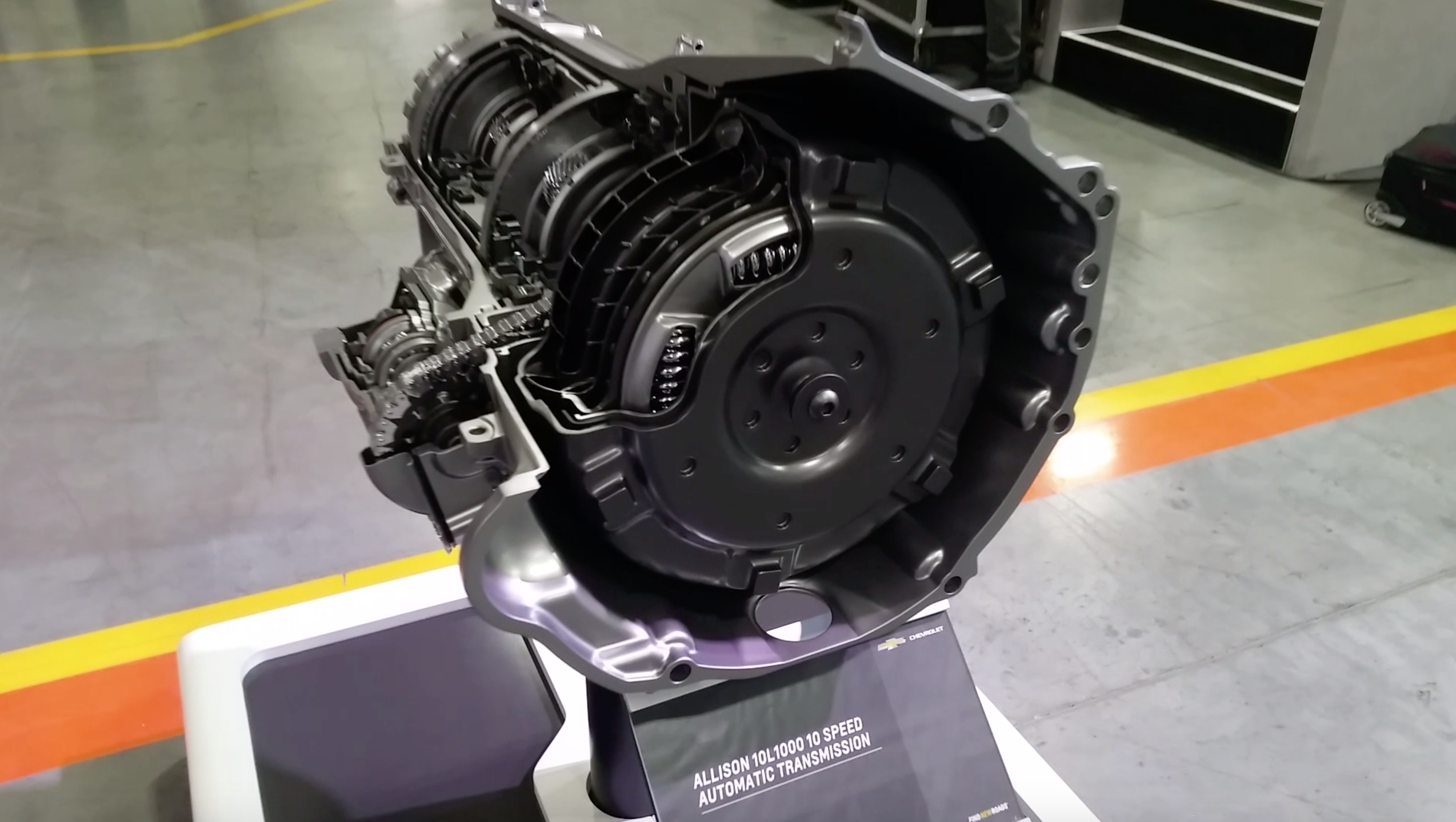 Video: Closer look at the new Allison 10-speed transmission