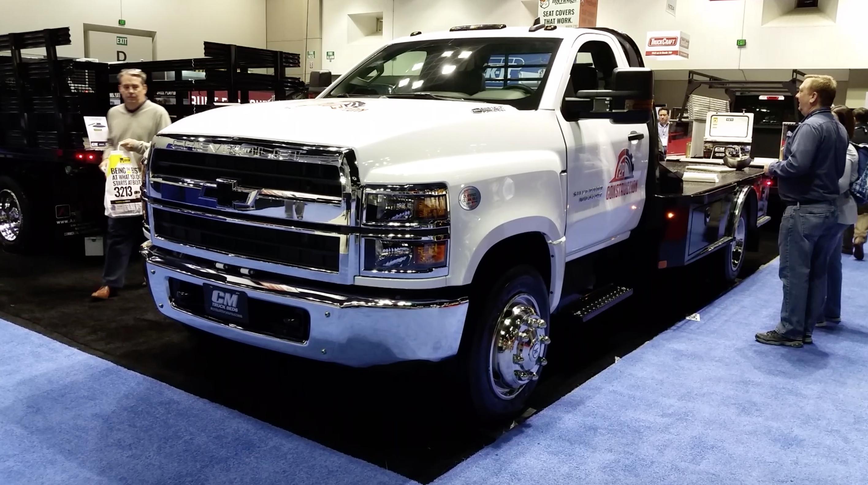 Cm Truck Beds Anticipates High Demand Of 2019 Chevy Silverado Medium Duty Builds Specially Designed Flatbed Medium Duty Work Truck Info