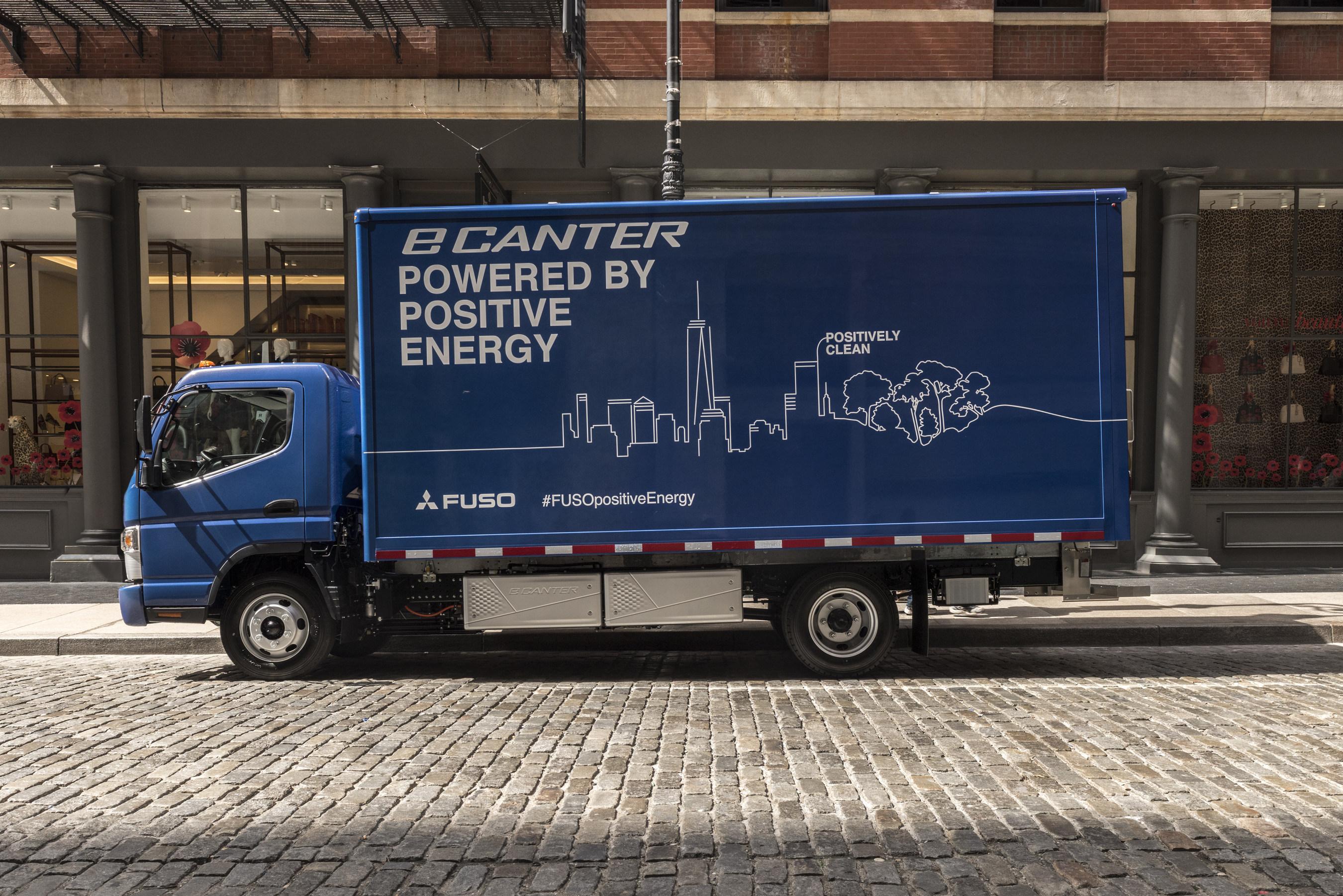 Penske rolling out FUSO eCanter electric trucks   Medium Duty Work