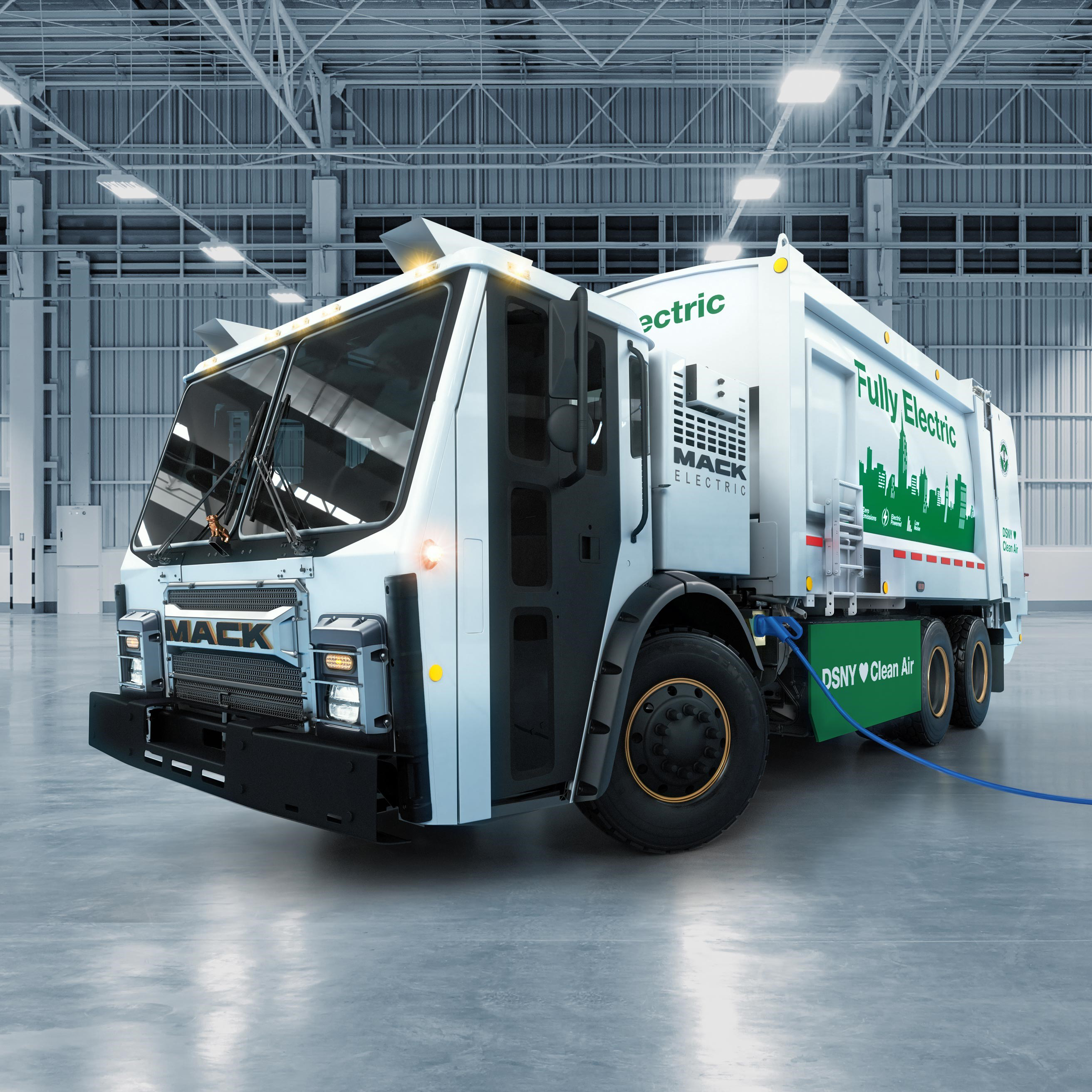 Southern California S First Electric Trash Truck Goes To Work