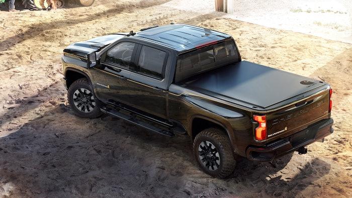 Chevrolet Introduces 2021 Silverado HD Carhartt Special Edition