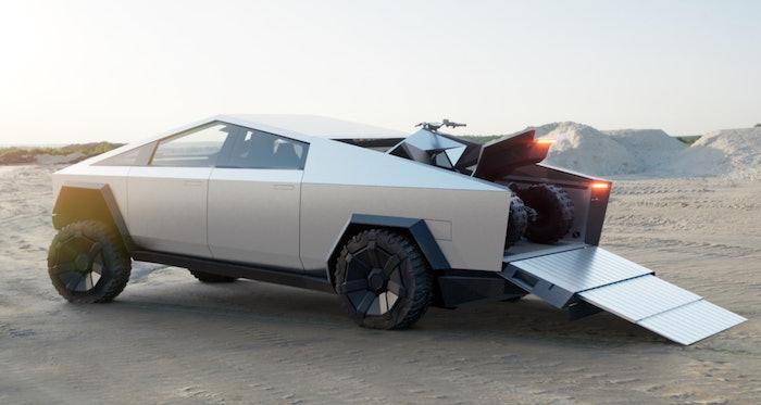 Tesla-pickup-four-wheeler