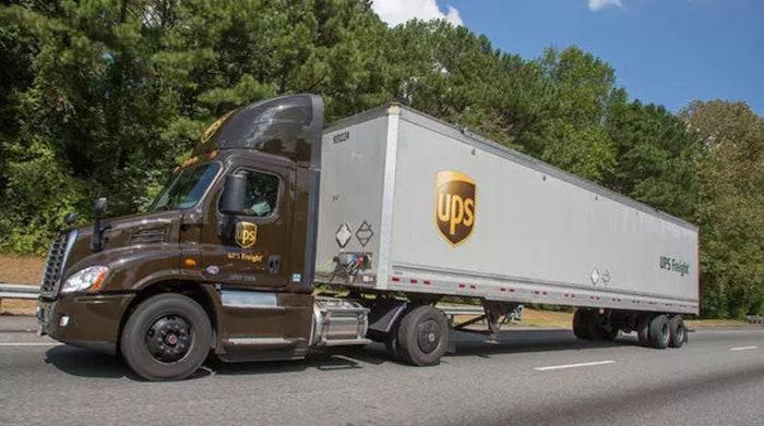 UPS-freight-truck